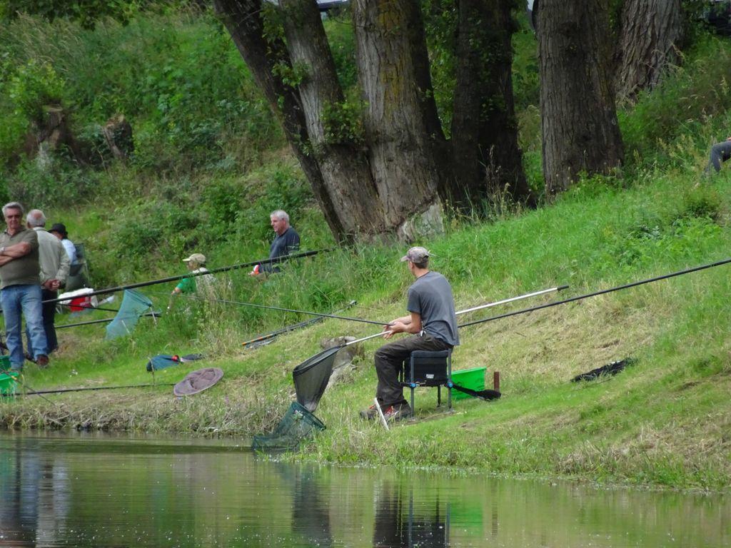 La pression et le vent pour la pêche